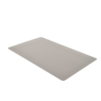 Mat Walk by Paolo Ulian Doormat Mat Size: Runner 4 x 75, Color: Gray
