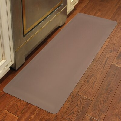 Chic Comfort Kitchen Mat Size: Rectangle 18 x 36, Color: Cappucino