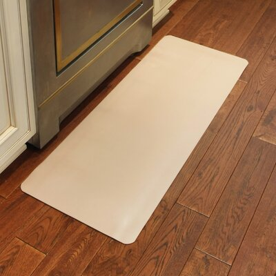 Chic Comfort Kitchen Mat Size: Rectangle 18 x 30, Color: Canvas