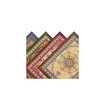Orientrax Hillcrest Door Mat Rug Size: 4 x 12, Color: Red Cinnamon
