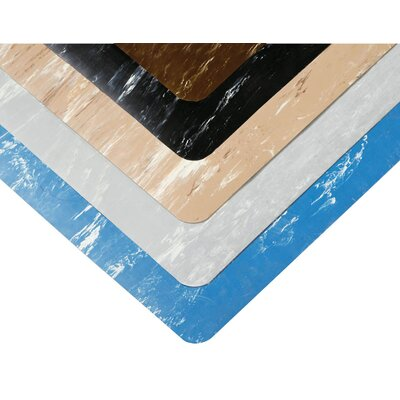 Marble Sof-Tyle Utility Mat Size: Rectangle 2 x 3, Color: Gray