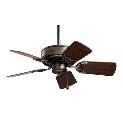 29 Willet 5 Blade Ceiling Fan Finish: Oil Brushed Bronze with Cherry/Walnut Blades