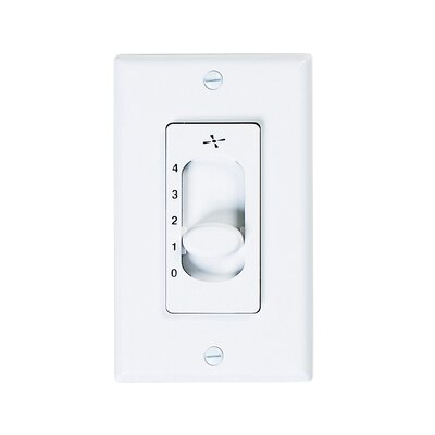 Cenat Four Speed Ceiling Fan Slide Wall Control