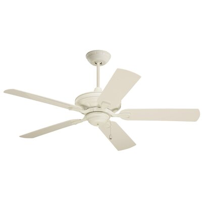 Lindley 52 5 Blade Ceiling Fan Finish: Appliance White