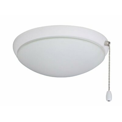 Bransford Light Fixture Housing finish: Satin White