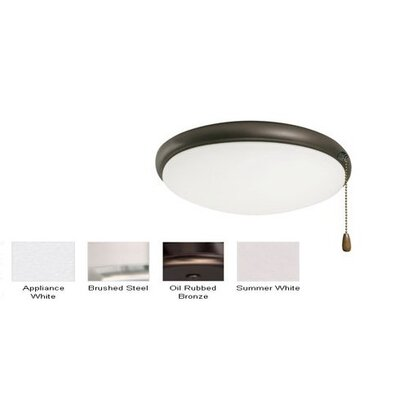 Bransford Light Fixture Housing finish: Appliance White