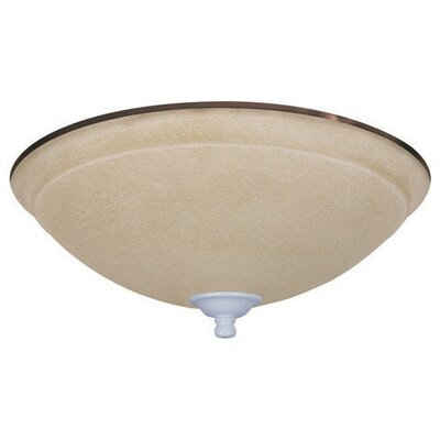 Ashton Wet Amber Mist Light Fixture Housing finish: Appliance White
