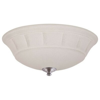 Grande White Mist Light Fixture Housing Finish: Brushed Steel
