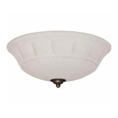 Grande White Mist Light Fixture Housing finish: Golden Espresso