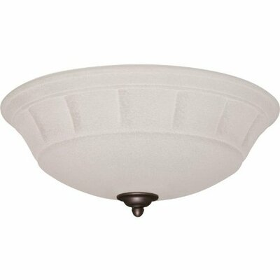 Grande White Mist Light Fixture Housing finish: Oil Rubbed Bronze