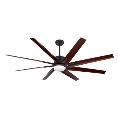 72 Shayna 8 Blade LED Ceiling Fan with Remote