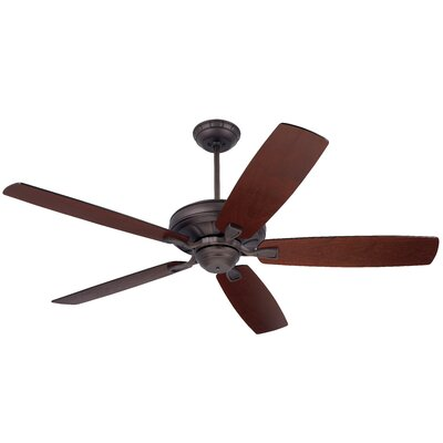 60 Millersport 5 Blade Ceiling Fan Finish: Oil-Rubbed Bronze