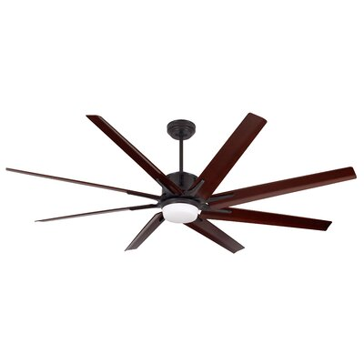 72 Espinosa 8 Blade Ceiling Fan Finish: Oil-Rubbed Bronze