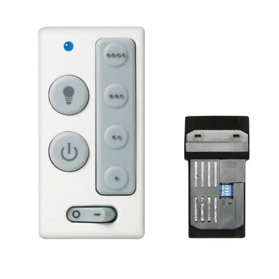 Lindley Four Speed Wall Mount and Remote Combo Fan Control