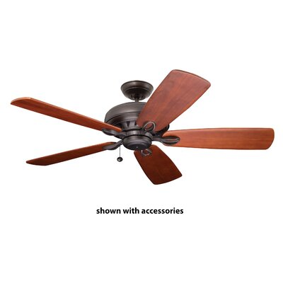 72 Clemens Eco 5 Blade Ceiling Fan Finish: Oil Rubbed Bronze