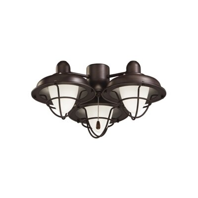 Boardwalk Cage Light Kit Housing finish: Oil Rubbed Bronze