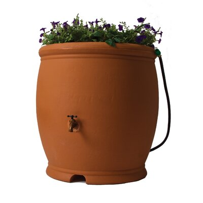 Algreen Barcelona Rain Barrel - Color: Terra Cotta at Sears.com