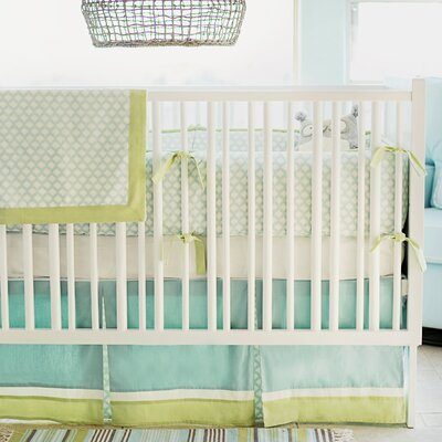 New Arrivals Sprout 4 Piece Crib Bedding Set CRIB4-SPROUT
