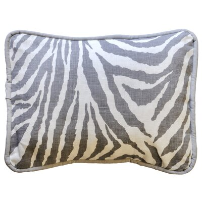 Safari in Gray Throw Pillow
