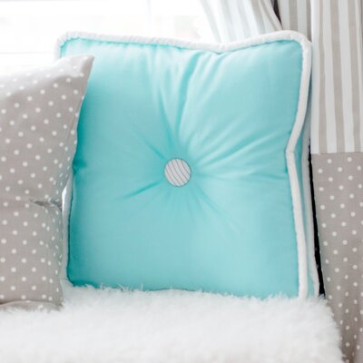 Catherine Lowe Cotton Throw Pillow Color: Aqua