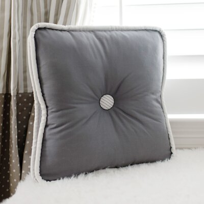 Catherine Lowe Cotton Throw Pillow Color: Gray