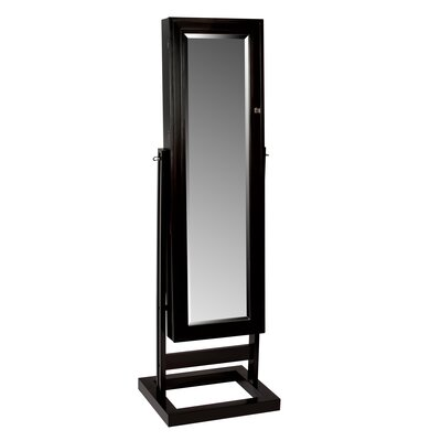 Verona Mirrored Jewelry Armoire