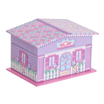 Mele & Co. Gabby Girl's Musical Ballerina Jewelry Box