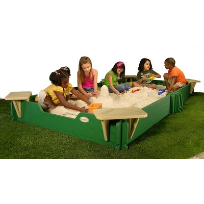 SandLock 10' Rectangular Sandbox with Cover at Sears.com