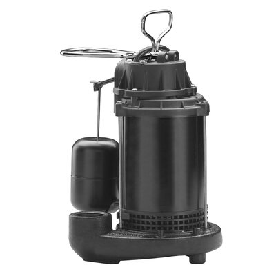 70 GPM Vertical Float Switch Cast-Iron Sump Pump