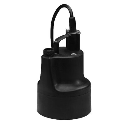 1/10 HP Oil-Free Submersible Multi-Purpose Sump Pump