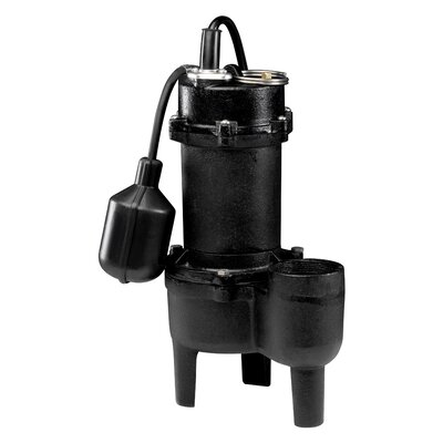 1/2 HP Tether Float Switch Sewage Pump