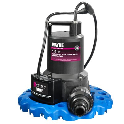 Wayne 1/4 HP 3000 GPH Pool Cover Water Removal Pump at Sears.com