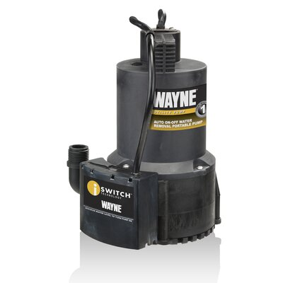 1/4 HP Automatic High Flow Utility Pump
