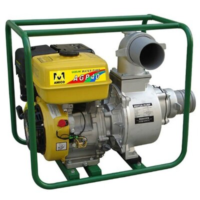 "4"" Gasoline Semi-Trash Water Pump"
