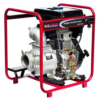 Amico 176 GPM Diesel Semi Trash Water Pump with Electric/Recoil Start at Sears.com
