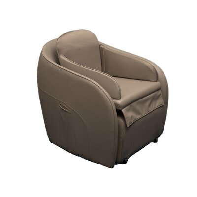 Aires Massage Chair with Ottoman Color: Gray