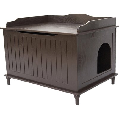 Blaine Litter Box Enclosure Finish: Espresso