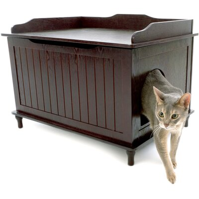 Litter Box Enclosure Finish: Espresso
