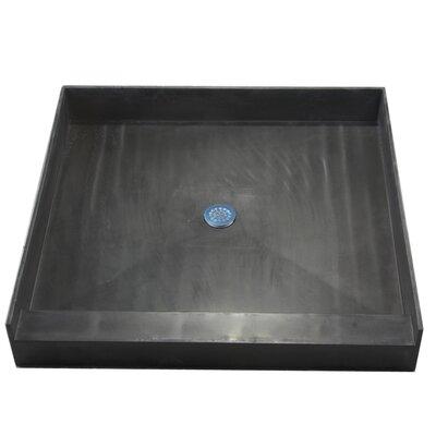 Tile Redi Single Curb Square Shower Base - Size: 32