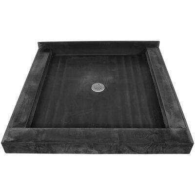 "Tile Redi Triple Curb Square Shower Base - Size: 48""W x 34""D"