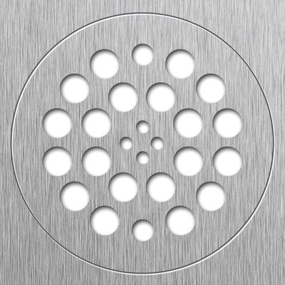 5.75 Grid Shower Drain Finish: Brushed Nickel