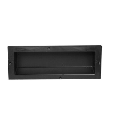Single Recessed Shelf