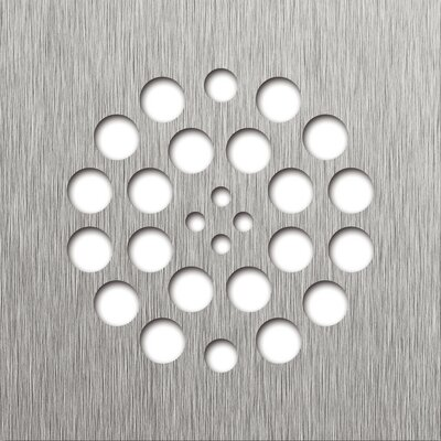 4.25 Grid Shower Drain Finish: Brushed Nickel