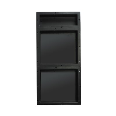 Triple Recessed Shelf
