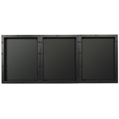 Triple Horizontal Recessed Shelf