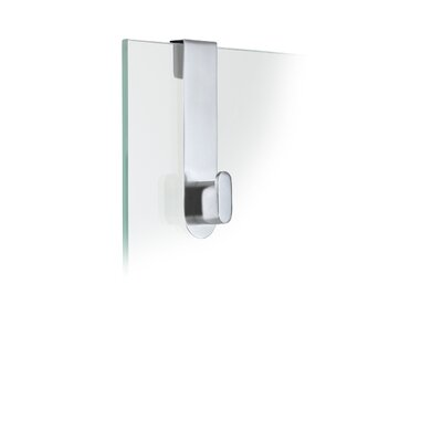 Aero Metal Hanging Shower Overdoor Hook Finish: Matte