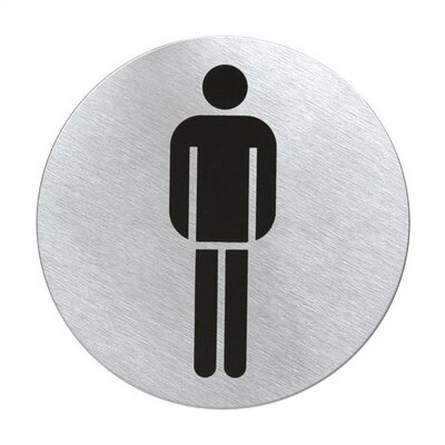Signo Door Plate Mens Room