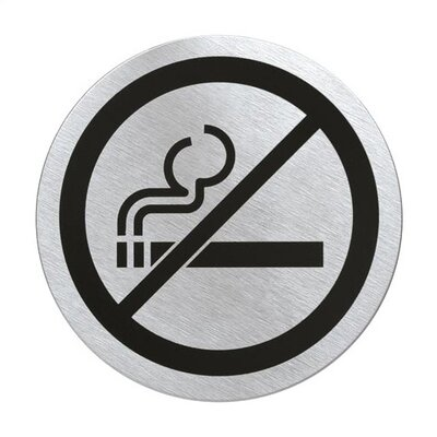 Signo Door Plate No Smoking