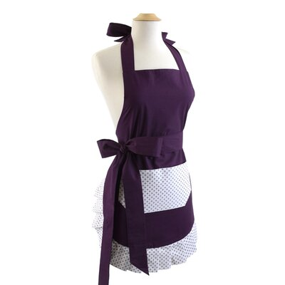 Paris Plum Women's Apron