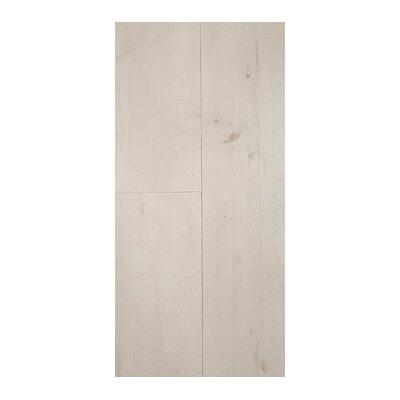 Akelah Adinda 7 x 48 x 8.5mm WPC Luxury Vinyl Plank in Ivory